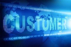 Customer text Royalty Free Stock Photos