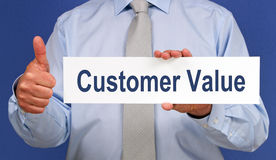 Customer value Royalty Free Stock Photography