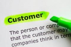 Customer Stock Image