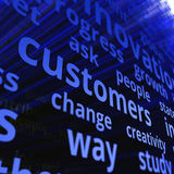 Customers concept Royalty Free Stock Photography