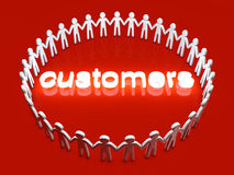 Customers Royalty Free Stock Images