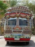 Customised Bus Stock Image