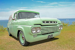 Customised ford truck. Photo of a customised ford truck on display at whitstable car show during summer of 2016 Stock Photography