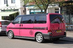 Customised volkwagen transit van Stock Photography