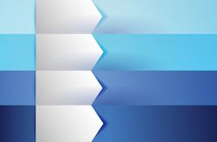 Customizable blue texture Banners Infographics Royalty Free Stock Image