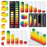 Customizable Graphs and Scales Stock Photos