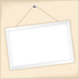 Customizable vector picture frame Royalty Free Stock Photos