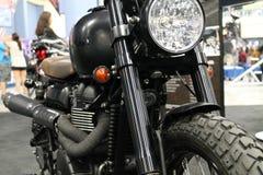Customized british motorcycle Stock Photography