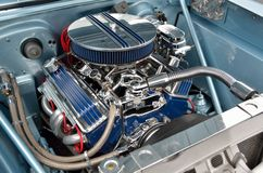 Customized car engine Royalty Free Stock Photos