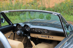 Customized fiat spider interior Stock Photo