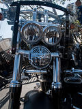 Customized Harley-Davidson motorcycle Royalty Free Stock Photo