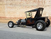 Customized Hot Rod Royalty Free Stock Photo