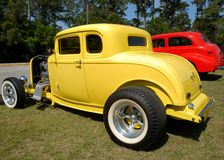 Customized hot rod cars Stock Images