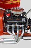 Customized Hot Rod Engine Stock Images