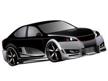 Customized lexus isf turbo drifting. Vectorized illustration of customized lexus isf modified concept japanese drifter D formula Stock Photo