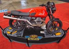 Customized Moto Guzzi V7 Scrambler Stock Image