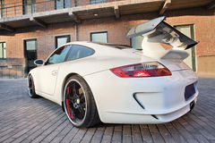 Customized Porsche 911, Beijing, China. BEIJING-NOV. 8. Customized Porsche 911. Porsche may deliver more cars in China than in its German home market by 2011 Stock Image