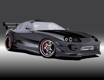 Customized toyota supra Stock Images