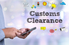 Customs Clearance Royalty Free Stock Photography
