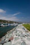 Customs dock San Diego Stock Photo