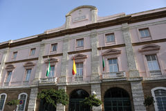 Customs house of Cadiz, Aduana, Andalusia, Spain Stock Photography