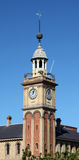 Customs House - Clock tower Newcastle Australia Stock Photo
