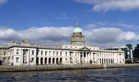 Dublin Customs House Royalty Free Stock Photos