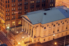 Customs House in Norfolk. Historic building of Customs House in Norfolk, Virginia Stock Photography