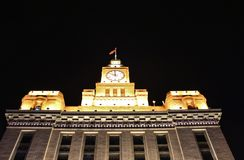 Customs House in Shanghai Royalty Free Stock Photo