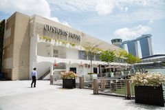 Customs House on the waterfront in Singapore Stock Photo