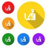 Customs icon,sign,best 3D illustration. Customs icon,best sign,best 3D illustration vector illustration