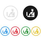 Customs icon,sing,illustration. Customs icon,sing,best illustration Royalty Free Stock Photos