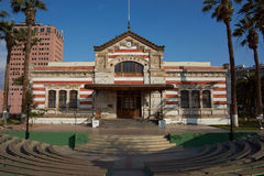 Customs Office. Historic customs office in the city of Arica in northern Chile Royalty Free Stock Photography