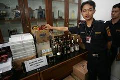 Customs operation Royalty Free Stock Image