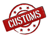 Customs - Red Stock Photos
