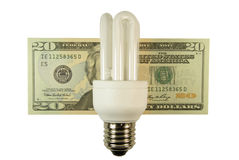 Custos da energia Fotografia de Stock Royalty Free