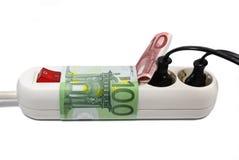Custos da energia Imagem de Stock Royalty Free