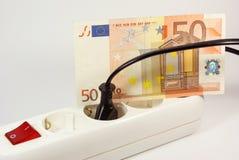 Custos da energia Foto de Stock Royalty Free