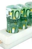 Custos de eletricidade elevados imagem de stock royalty free