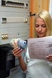 Custos de Energie Fotografia de Stock Royalty Free
