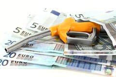 Custos do gás Imagens de Stock Royalty Free