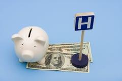 Custos dos cuidados médicos Foto de Stock
