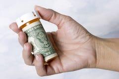 Custos dos cuidados médicos Fotografia de Stock Royalty Free