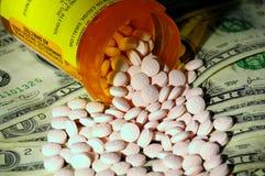 Custos médicos Foto de Stock
