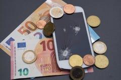 Custos móveis fotos de stock