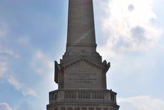 Custoza minnesmärke Royaltyfri Fotografi
