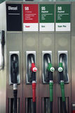 CUSTUM FUEL PUMP Stock Image
