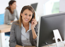 Custumer service assistant at work Stock Photography