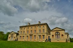 Cusworth Hall. Rear view of Cusworth Hall near Doncaster Stock Photos