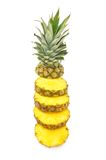 Cut ananas Royalty Free Stock Images